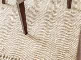 Gaines Hand Woven Natural area Rug by Charlton Home Take Style to A New Level with This Hand Woven Tassel Rug