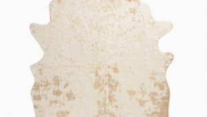 Gold Printed Faux Cowhide area Rug 5×67 Gold Printed Faux Cowhide area Rug World Market