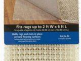 Gorilla Grip Non Slip area Rug Pad Mainstays Non Skid Rug Pad 2 Ft X 6 Ft