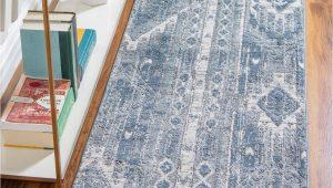 Gray and Blue Runner Rug Blue Gray 2 2 X 6 oregon Runner Rug