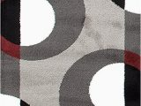 Gray and Maroon area Rugs Circle Gray Grey Burgundy area Rug – Modern Rugs and Decor