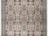 """Gray and Rust area Rug Colette Tribal Rust Gray area Rug 5 3""""x7 7"""""""