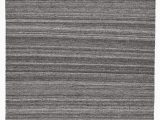 Gray and White Striped area Rug Mcmurtry Striped Handmade Flatweave Wool Gray area Rug