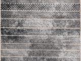 Gray and White Striped area Rug Momeni Logan Lgn 2 area Rugs