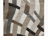 Gray Brown and White area Rug Meisner Abstract Brown White area Rug