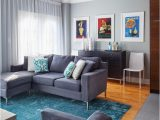 Gray Living Room area Rug Grey and Blue area Rug Living Room Transitional with Wood