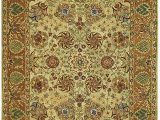 Green and Gold area Rugs Amazon Safavieh Anatolia An521a 4 Round Green Gold