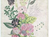 Green and Pink area Rugs Cypres Ivory Green Pink area Rug