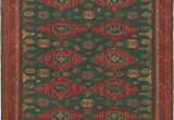 """Green and Red area Rugs Idalou Handwoven Flatweave 9 2"""" X 11 4"""" Wool Green Red area Rug"""