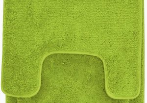 Green Bath Rug Sets Hailey 3 Piece Bath Rug Set Lime