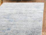 Grey and Navy Blue area Rug Laurel Foundry Modern Farmhouse Abbeville Gray Navy Blue
