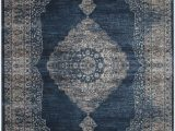Grey and Navy Blue area Rug sonoma area Rug Blue and Gray