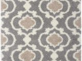 Grey and Silver area Rugs andover Mills™ Hegwood Geometric Gray Silver area Rug