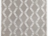 Grey and Silver area Rugs Exquisite Rugs Moreno Hand Knotted 3030 Silver area Rug