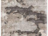 Grey and Silver area Rugs Glacier Handmade Abstract Gray & Silver area Rug In 2020