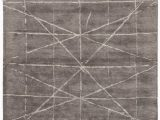 Grey and Silver area Rugs Jaipur Living Genesis Duval Ges13 Dark Gray Silver area Rug