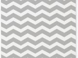 Grey and White Striped area Rug Amazon Cafepress Grey and White Chevron 3 X5