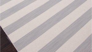 Grey and White Striped area Rug Dias Collection From Jaipur Gray and White Striped area