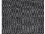 Grey Black and White area Rug Criswell Geometric Handwoven Cotton Black White area Rug