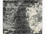 """Grey Black and White area Rug Roskos Black Gray and White area Rug 60""""x84"""""""