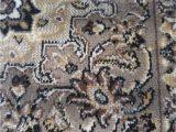Grey Brown and Black area Rugs Black Ivory & Grey Brown Silk isphan area Rug