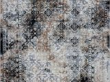 Grey Brown and Black area Rugs Grey Cream Abstract area Rug Cream Carpet for Living Room