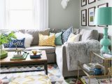 Grey Couch Blue Rug Grey Couch Decor