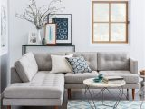 Grey Couch Blue Rug Simplifying the Sectional sofa