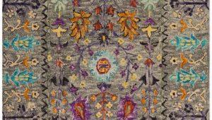 Grey Multi Colored area Rugs Safavieh Blossom Blm453a Grey Multi area Rug
