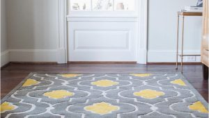 Grey Yellow White area Rug Gorgeous Floor Rug Yellow Gray Rug Wayfair Omg Can I