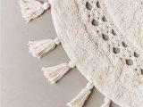 Half Circle Bath Rug Crochet Sun Bath Mat
