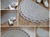 Half Moon Bathroom Rugs English Rug Pattern Crochet Half Moon Pdf Pattern Crochet