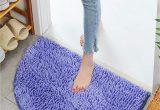 Half Moon Bathroom Rugs soft Bathroom Rug Half Moon Round Semi Circle Machine Washable Rubber Back Mat Carpet Walmart