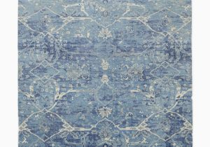 Hand Knotted Blue Rugs Amelia Hand Knotted Rug