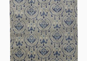 Hand Knotted Blue Rugs Channing Hand Knotted Rug