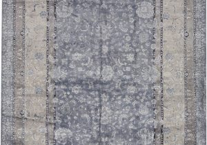 Hand Knotted Blue Rugs Nirvana oriental Hand Knotted Blue area Rug