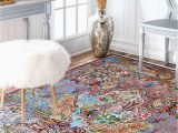 Hand Knotted Persian area Rug Victorian Hunting Handknotted Wool Persian area Rug