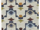 Hand Tufted Blue Wool Rug Pacifica Hand Tufted Wool Blue Ivory area Rug