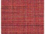 Harris Blue Micro Hooked Wool Rug Harris Crimson Micro Hooked Wool Rug