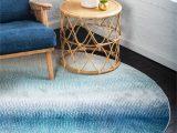 Haugan Blue area Rug Applecroft Ombre Blue area Rug