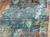 Haugan Blue area Rug Lonerock Abstract Blue area Rug In 2020