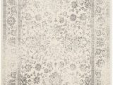 Hdc Ethereal Gray area Rug Adirondack Mackenzie Ivory Silver 5 Ft 1 Inch X 7 Ft 6 Inch Indoor area Rug