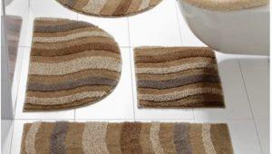Heated Bath Mat Rug Heine Home Bath Mat Bath Rug Waves In Brown Beige Size 45 X