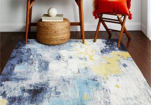 Heilman Blue area Rug Heilman Ivory Blue Rug