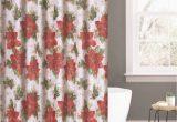 Holiday Bath Rug Set Festiveelegance by Benjonah Red Poinsettia 14 Piece Holiday Chenille Bath Rug Set Walmart Com