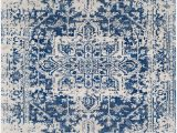 Home Accents Harput area Rug Home Accents Harput area Rug Dark Blue Pale Gray Beige In
