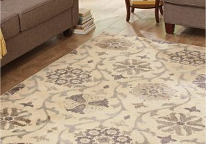 Home and Garden area Rugs Better Homes and Gardens Cream Floral Vine Olefin area Rug