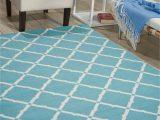 Home and Garden area Rugs Home and Garden Indoor Outdoor Aqua area Rug by Nourison Walmart