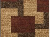 """Home Dynamix Catalina Pierre area Rug Signature Design by ashley Rosemont Collection Rug 5 2 X 7 2"""" Red Brown Gold"""