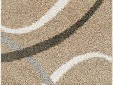 "Home Dynamix Synergy area Rug Home Dynamix S1000 198 Nicole Miller Synergy Quill Shag area Rug 5 2"" X7 2 Abstract Shaggy Beige White"